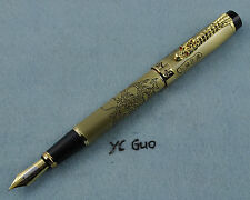 Jinhao Dragon's Descendent Inner Carving Fountain Pen Light Grey is Unavailable