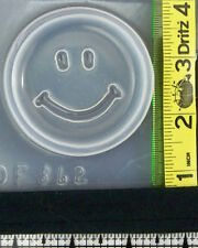 Happy Smiley face resin jewelry making crafts mold mould 862 smile nice day