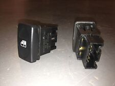 MGF MK2 / MG TF PAIR OF ELECTRIC WINDOW SWITCHES YUF101880 MGF / MG TF BREAKING