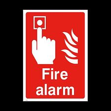 Fire Alarm Sign, Sticker - All Sizes & Materials  Fire Exit, Extinguisher (FE8)