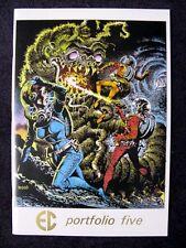 EC COMICS ART PORTFOLIO #5 DEDICATED TO AL WILLIAMSON COVER BY WALLACE WOOD