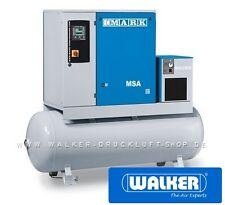 SCHRAUBENKOMPRESSOR MARK MSA 7,5 D-500 7,5kW - MIT TROCKNER - KESSEL - FILTER