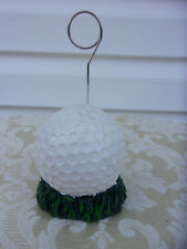 Set Of 12 Golf Ball Placecard Holders