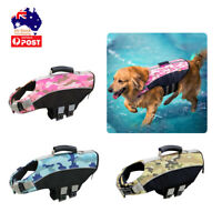 Dog Life Jacket Pet Dog Swimwear Floating Safety Vest Buoyancy Aid Harness S-XL