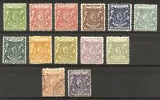 Brit East Africa #72/85 Mint / Used - 1896 Victorias ($228)