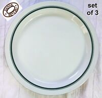 "Dansk Bistro Christianshavn Green 10-1/2"" Dinner Plate Portugal - SET of 3"