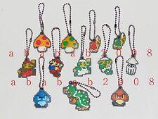 Epoch Super Mario Bros figure keychain gashapon (full set of 12 figures) rare