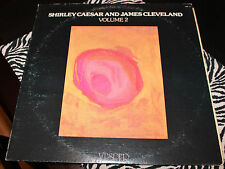 Shirley Caesar and James Cleveland – Our Greatest Hits (Volume 2) LP Vesper