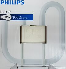 2 x 16 W 2PIN PHILIPS 3500K WHITE CFL PLUG IN PL-Q lynx Q CFL Paratia quadrato