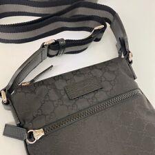 Gucci GG Supreme Canvas Messenger Body Bag, Holdall, Black, Brand New!