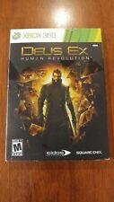 Deus Ex: Human Revolution (Microsoft Xbox 360 2011) NEAR MINT COMPLETE! MAIL TOM