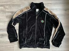 Gucci Sweater  Zip Men's Top Black Sweatshirt Crewneck Turtle  Italy  Hoodie M