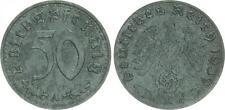 TERZO IMPERO 50 PFENNIG 1939 A motiv-und materialprobe in zinco, PROBE VZ