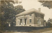 Antrim New Hampshire~James A Tuttle Library~1912 Real Photo Postcard~RPPC