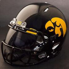 "IOWA HAWKEYES ""ANF"" NCAA Authentic GAMEDAY Football Helmet w/ OAKLEY Eye Shield"