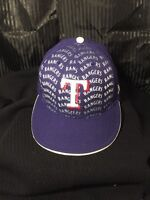 New Era TEXAS RANGERS  Blue Cap MLB Baseball 59Fifty Fitted Hat 7 3/8