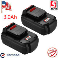 2x for Porter-Cable 18 Volt PC18B High Output Nicad Battery PC188 PCC489N HOT