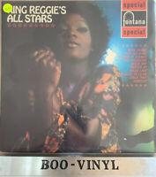 King Reggie - King Reggie's All Stars (Vinyl) Ex Con Soul Reggae