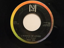 Jimmy Reed 45 I WANNA BE LOVED / A NEW LEAF ~ Vee Jay VG soul
