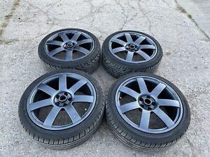 """5/100 18"""" Alloy Wheels MG ZT VW Subaru"""