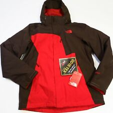 $350 Mens North Face Mountain Light Triclimate Medium Red/Brown NWT