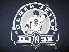 DEREK JETER DJ 3K 3,000 Hits NEW YORK YANKEES (LG) T-Shirt