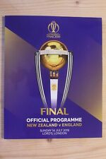 2019 Cricket World Cup Final - Official Programme England v New Zealand In Stock