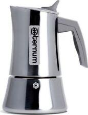 BIALETTI AETERNUM CAFFETTIERA 2 TAZZA EXPRESS INOX 18/10 INDUZIONE 8006363014878