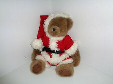 Boyds Plush Bear Mr. Kringle Winter Santa Christmas #904211 with tag