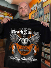 Five-Finger Death-Punch Harley.Davidson Skeleton T-Shirt, Sweashirt, Hoodie