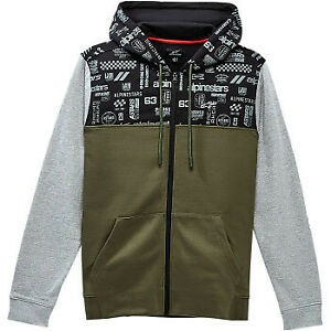 Alpinestars Perpetuity Hoodie Military Green All Sizes