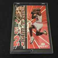 MICHAEL JORDAN 1999 UPPER DECK MVP #JT1 JAM TIME FOIL INSERT CARD BULLS NBA MJ
