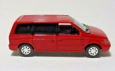 Busch 44614 Chrysler Voyager in Rot 1/87 H0 Neu + OVP Modellauto