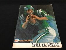 San Francisco 49ers v Philadelphia Eagles 1966 NFL Game Program