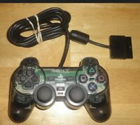 Official SONY PlayStation 2 PS2 DualShock SMOKE GRAY Wired Controller SCPH-10010