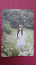 AFTER SCHOOL E-YOUNG Official Photo Card Korea Press 4th Single BLUE Photocard