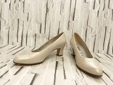 GABOR 'Greta' Ivory Court Shoes Size 4 1/2 Smart Occasion Wedding