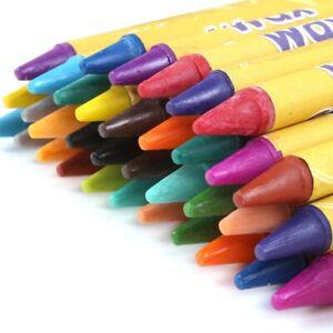 250+ NON-TOXIC WAX CRAYONS Kid Safe Restaurant Classroom Colouring Bulk Buy