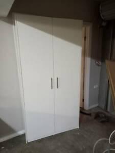 White Melamine Storage Cupboards