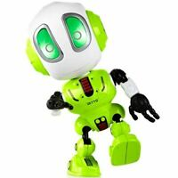 Force1 Ditto Mini Talking Robots for Kids - Robot Voice Changer Toy with Posable