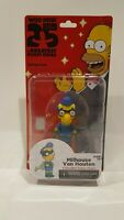 THE SIMPSONS 25 OF THE GREATEST GUEST STARS- MILHOUSE VAN HOUTEN FIGURE PACKAGE