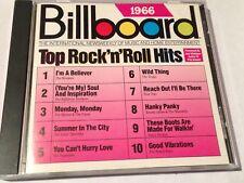 Billboard Top Rock N' Roll Hits 1966 (CD, Rhino)