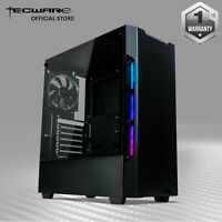 Tecware Nexus EVO, Compact RGB ATX Mid Tower Gaming Computer Case 5 Fans Side