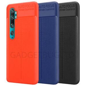 Silicone Soft Slim Rubber Bumper Leather Cover Case For XIAOMI MI NOTE 10 / PRO
