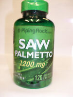 Saw Palmetto  Maximum Strength  1200 mg  120 Capsules
