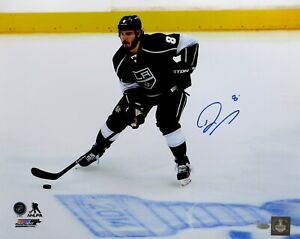 Drew Doughty Signed Autographed 16X20 Photo Kings 2014 Playoffs Action Steiner