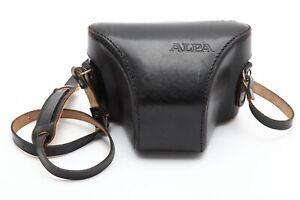 Excellent Alpa 10D Black Leather Case with Strap #C1120