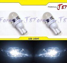 LED 5050 Light 2825 White 5000K Two Bulbs Side Marker Map Step Door Park Trunk