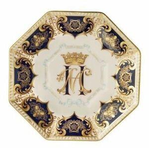 Royal Crown Derby, Harry & Meghan-A Royal Wedding Octagonal Plate - (limited