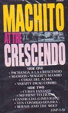 New: Machito: Machito at the Crescendo  Audio Cassette